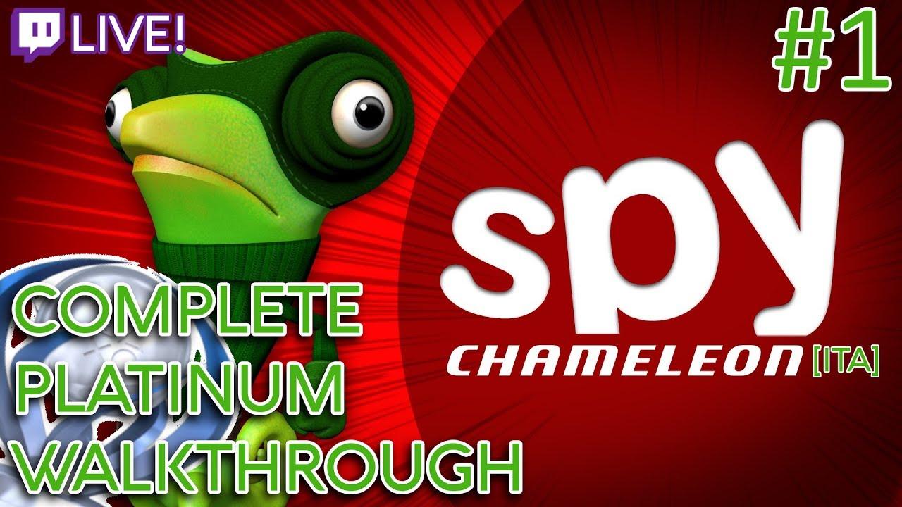 Download [PS4-LIVE] [#1] Spy Chameleon - Complete Platinum Walkthrough [ITA] (No Commentary)