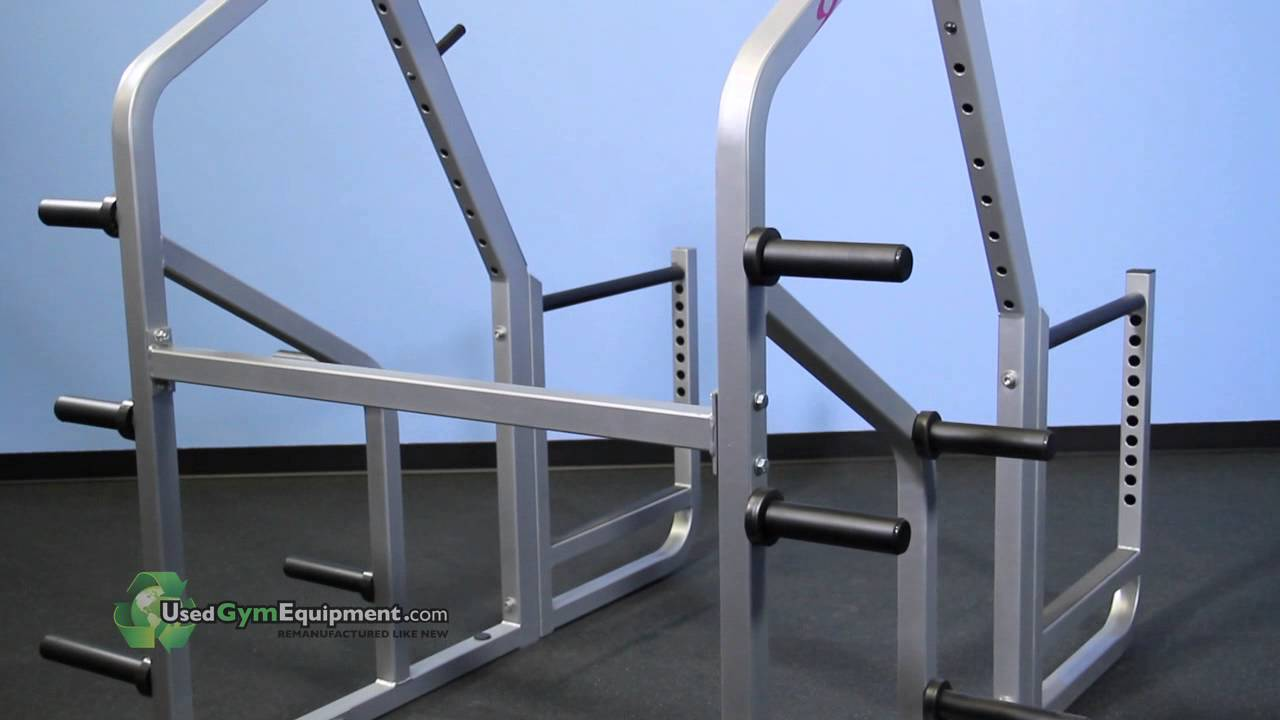 Used Squat Rack >> Used Cybex For Sale Squat Rack Remanufactured Like New Fitness