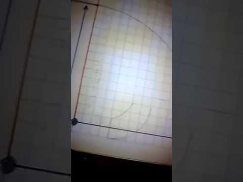 "TRAZO DE CODO DE 90° RADIO LARGO DE 3"" DE DIÁMETRO"