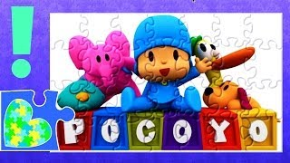 POCOYO Video Puzzle for kids! Pocoyó Rompecabezas de Puzzle.