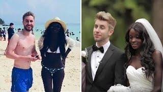 Все смеялись, когда он женился на темнокожей девушке, но уже через 2 года они пожалели об этом!