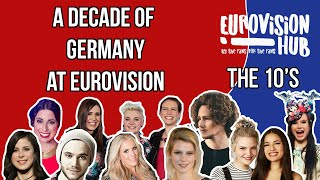 A decade of Germany at Eurovision (Reaction Video)
