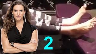 Stephanie Mcmahon Barefoot Midnight Workout Collection