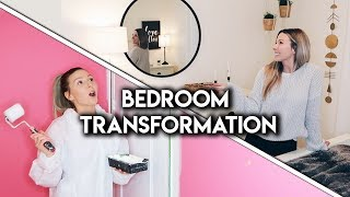 EXTREME BEDROOM MAKEOVER **HUGE TRANSFORMATION**