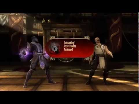 Mortal Kombat Komplete Edition XBOX 360 Secret Fatalities