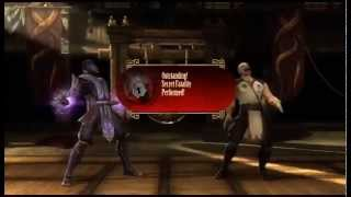 Mortal Kombat Komplete Edition XBOX 360 Secret Fatalities