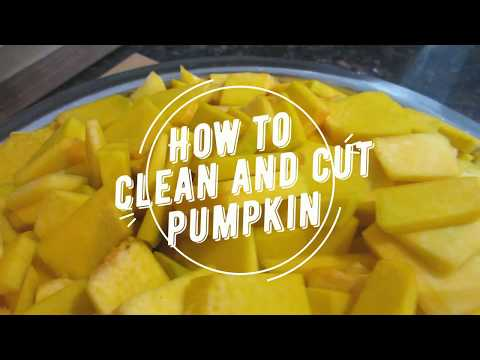 How to Clean and Cut Pumpkin- Episode 66