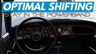 Forza 6how Know When Shift Staying Powerband