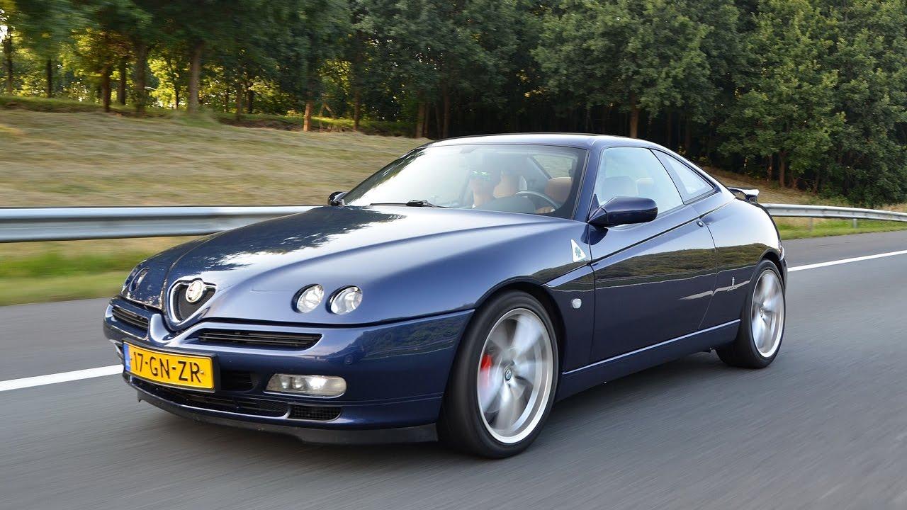 Alfa Romeo GTV 3.0 V6, custom s\/s exhaust and manifold  YouTube