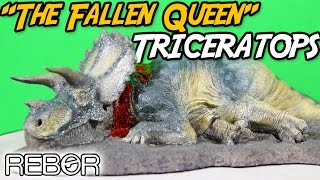 T. REX FALLEN PREY! We take a detailed look at this brand new femal...