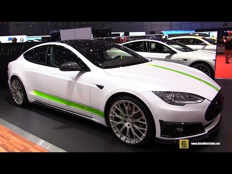 2016 Tesla Model S P85D by Mansory - Exterior and Interior Walkaround - 2016 Geneva Motor Show