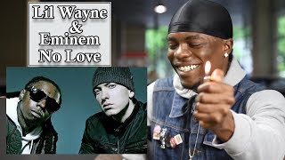 Gambar cover Eminem - No Love (Explicit Version) ft. Lil Wayne - REACTION | Oso's Reaction