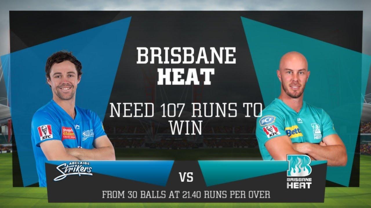 Adelaide Strikers v Brisbane Heat, BBL|09 Match 04 ...