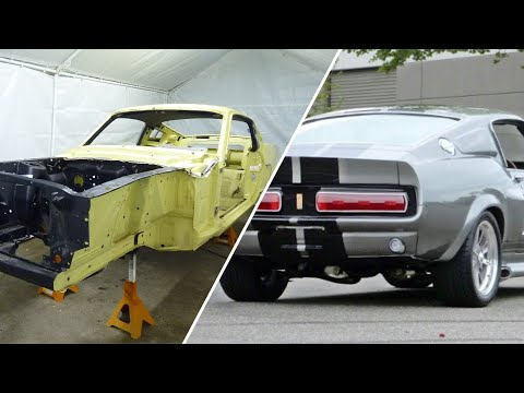 Eleanor #3 1968 Mustang Fastback GT500 My Best Build Yet
