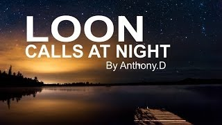 (OFFICIAL VIDEO) LOON CALLS AT NIGHT / COMMON LOON VOICES