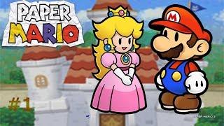 Paper Mario capítulo1:Problemas en el castillo de Peach