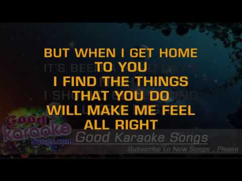 A Hard Day's Night -  The Beatles (Lyrics Karaoke) [ goodkaraokesongs.com ]
