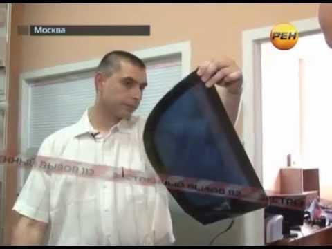 видео: Электронная тонировка: регулируемая тонировка. РЕН ТВ