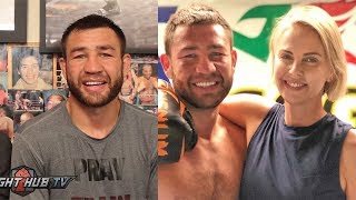CHRIS VAN HEERDEN TALKS WBC FIGHT & GETTING CHARLIZE THERON FOR B-DAY PRESENT