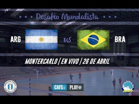 Argentina vs Brasil (Montecarlo)