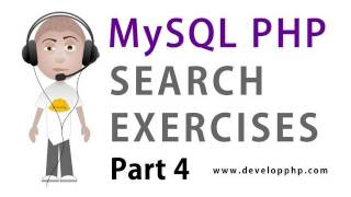 4. MySQL PHP Search Programming : SQL MATCH AGAINST Fulltext Search Syntax UNION Tutorial