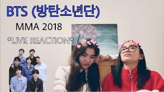 BTS (방탄소년단) MELON MUSIC AWARDS 2018 **LIVE Reaction**
