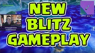 INSANELY FAST PACED | NEW BLITZ MODE | HARDEST GAME MODE? Fortnite Battle Royale