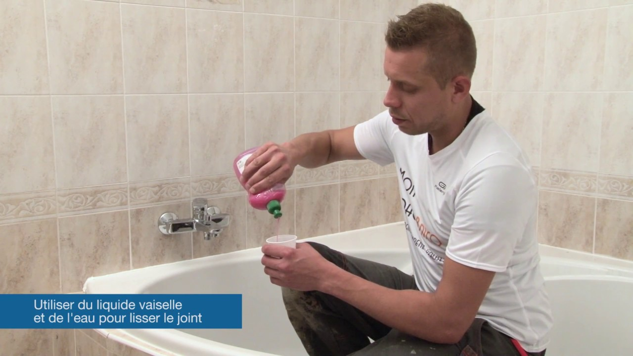 Comment faire un joint en silicone youtube - Comment faire un beau joint de silicone ...