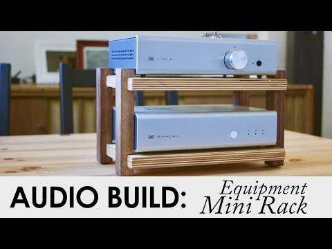 Schiit Audio Mini Rack From Scraps | Audio Build