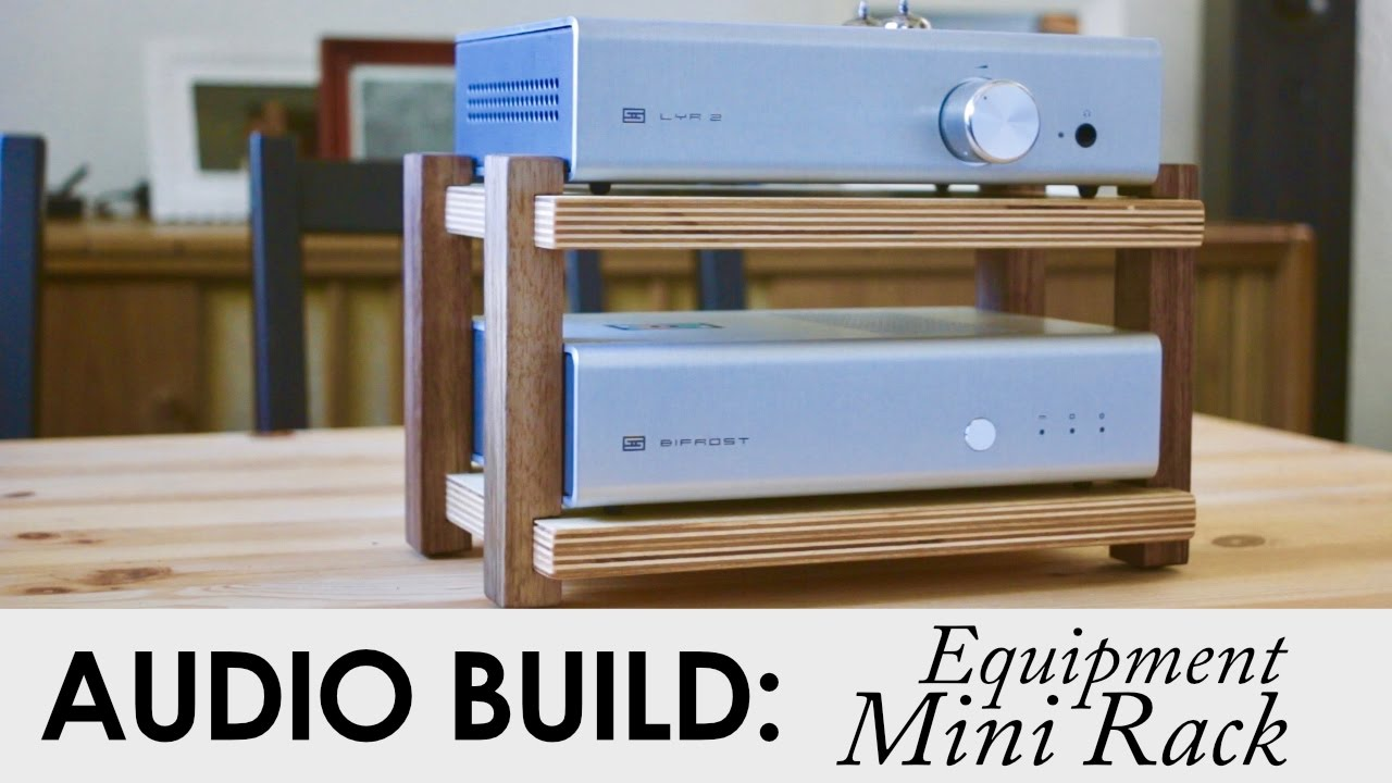 Schiit Audio Mini Rack From Scraps
