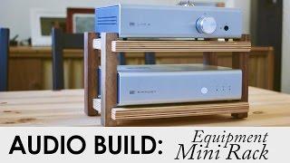 Schiit Audio Mini Rack From Scraps   Audio Build