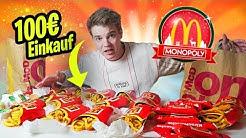ich kaufe für 100€ bei McDonalds Monopoly ein! - Auf zum HAUPTGEWINN!