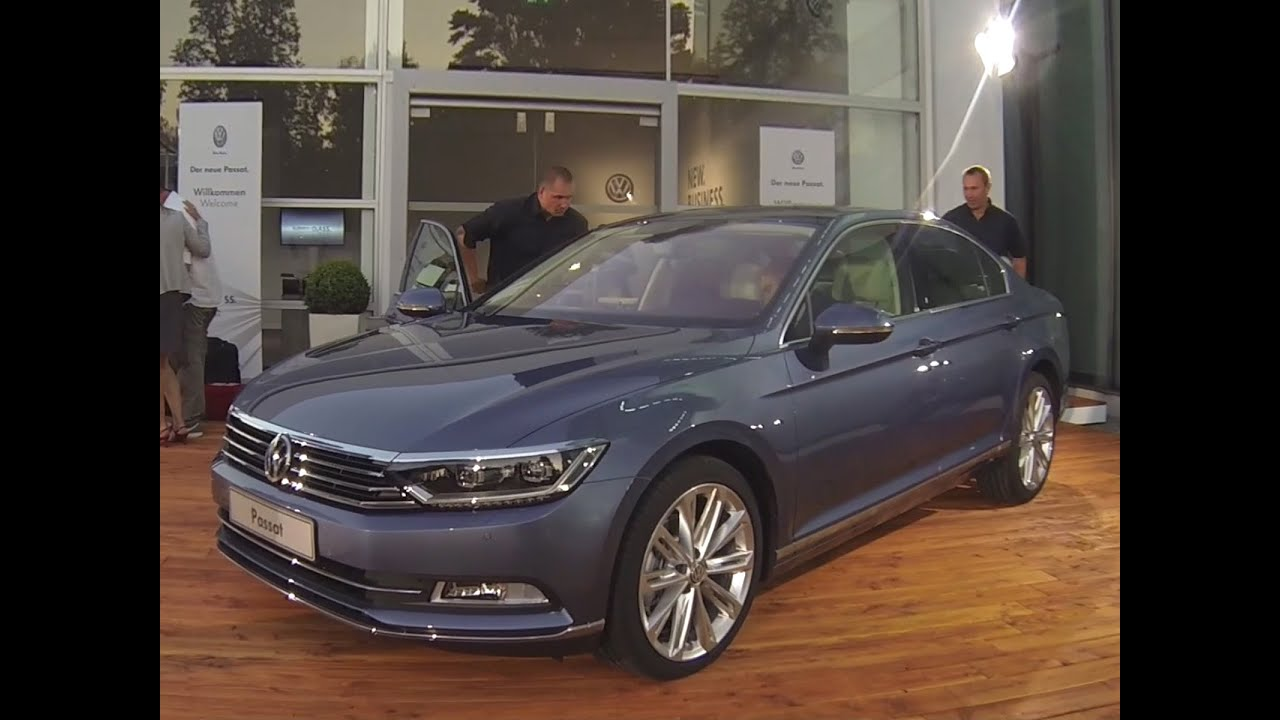 a bord de la nouvelle volkswagen passat 2014 youtube. Black Bedroom Furniture Sets. Home Design Ideas