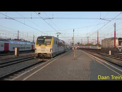 HLE 18 89 met M5 komt aan in Brussel Zuid