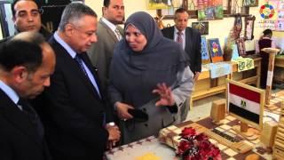 """أفتتاح مدرسة الشهيد """"محمد موسى الجلاب"""" للتعليم الأساسى بمركز سنورس بالفيوم"""