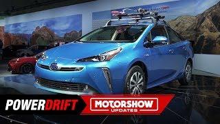 2019 Toyota Prius : The EverGreen hybrid : 2018 LA Auto Show : PowerDrift