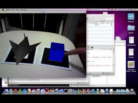 Toggling scene graph nodes with augmented reality