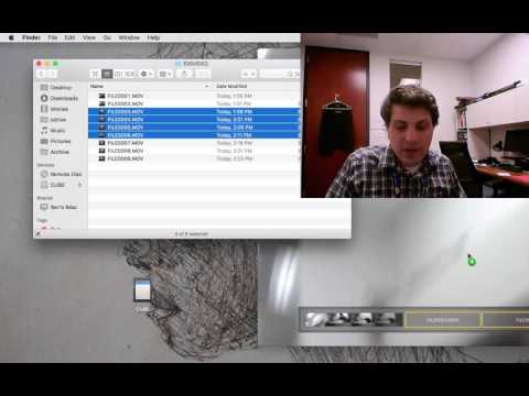 How to Combine Multiple Video Files on a Mac with Quicktime