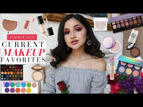 CURRENT BEAUTY FAVORITES ☽ MAKEUP I'VE BEEN WEARING ALL SUMMER thumbnail