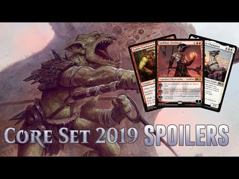 Daily Core Set 2019 Spoilers — June 20, 2018 | Sarkhan, Goblins, Knights