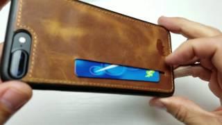 burkley iphone 7 plus premium ultra slim case w credit card slot review