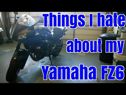 10 Things I HATE About My Yamaha FZ6