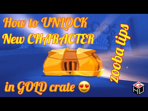 How to UNLOCK new CHARACTER in Gold Crate || #zoobatips || Zoo Battle Arena