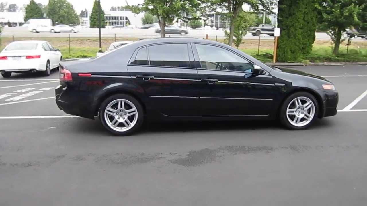 2008 Acura Tl Nighthawk Black Pearl Stock 731090 Youtube