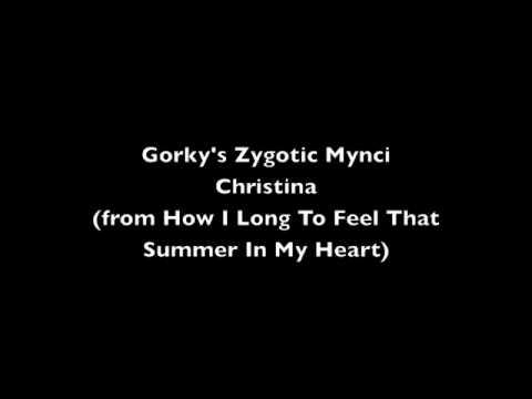 Gorky's Zygotic Mynci - Christina (+ analyse des paroles)