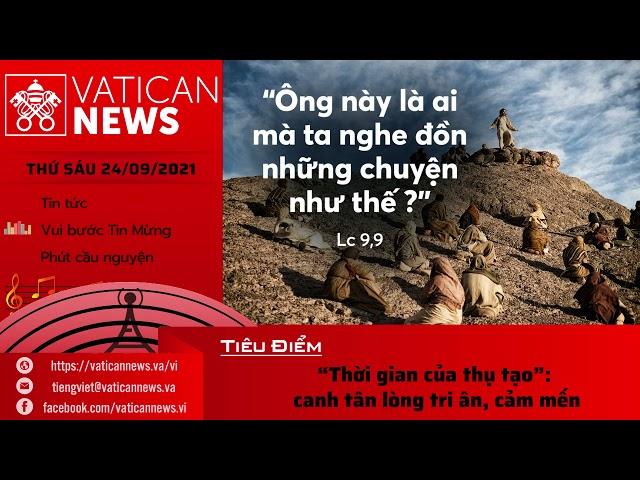 Radio thứ Sáu 24/09/2021 - Vatican News Tiếng Việt