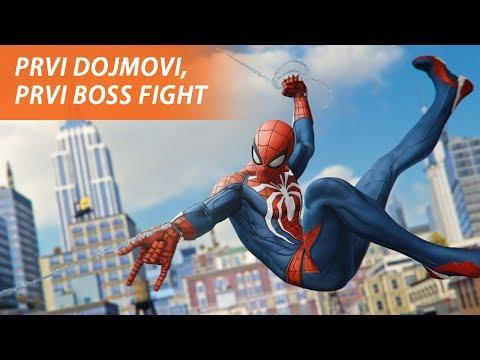 LETIM PO GRADU, TUČEM KRIMINALCE - Spider-Man za PS4
