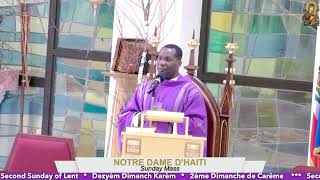 Second Sunday of Lent // 5:30 PM Mass 02.28.21