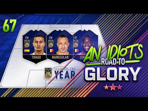 MY TEAM OF THE YEAR VOTE!!! AN ID**TS ROAD TO GLORY!!! Episode 67