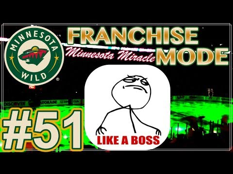 """NHL 18 Minnesota Wild Franchise Mode #51 """"IF DRAFTS WERE CUPS..."""""""